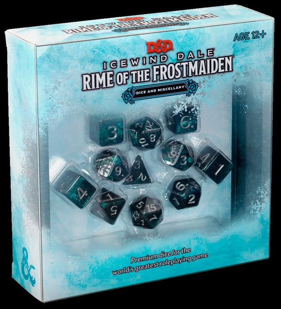 D&D 5e: Icewind Dale: Rime of the Frostmaiden Dice and Miscellany