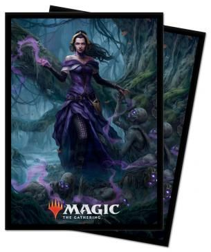 Ultra Pro Standard Card Game Sleeves 100ct Magic the Gathering Core Set 2021 Liliana (18362)