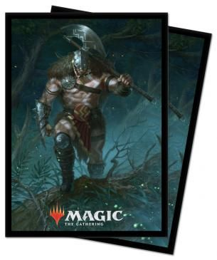 Ultra Pro Standard Card Game Sleeves 100ct Magic the Gathering Core Set 2021 Garruk (18364)