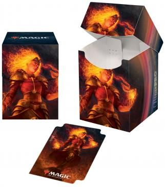 Ultra Pro Pro 100+ Deck Box Magic the Gathering Core Set 2021 Chandra (18368)