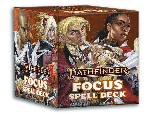 Pathfinder 2e RPG Spell Cards - Focus