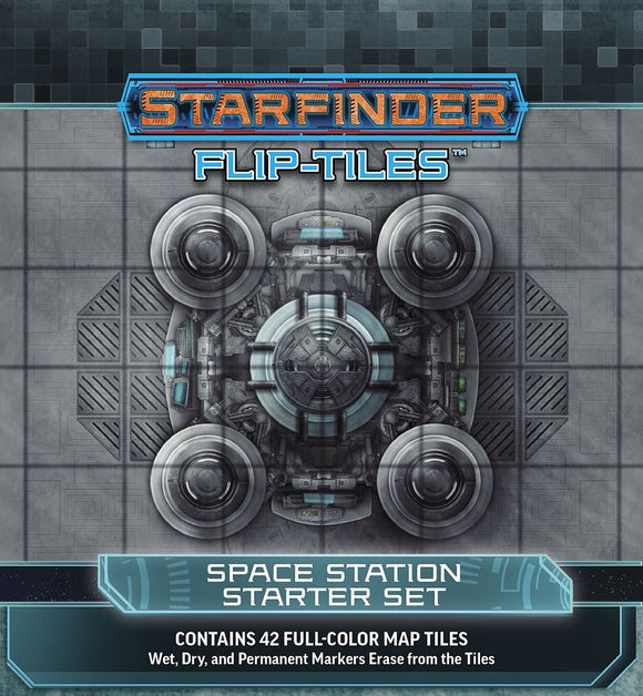 Starfinder Flip-Tiles Space Station Starter Set
