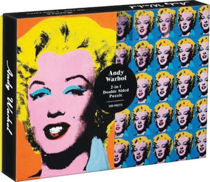 Andy Warhol Marilyn Double Sided Puzzle 500p