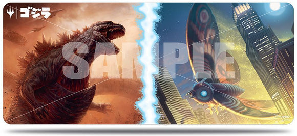 Ultra Pro 6' Playmat Magic the Gathering Ikoria: Lair of Behemoths Godzilla vs Mothra