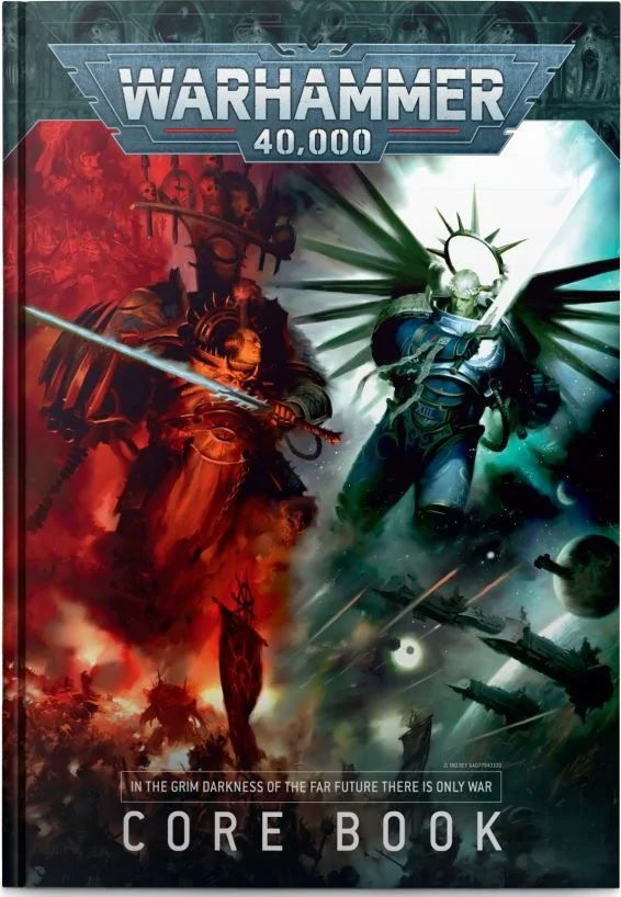 Warhammer 40,000: Core Rule Book (9th Ed)