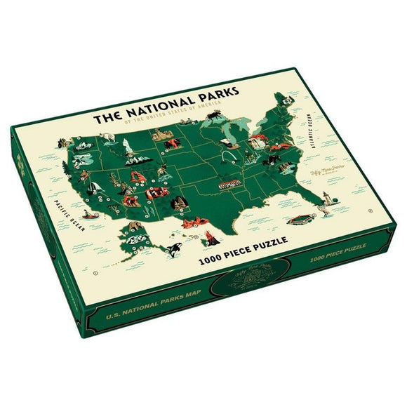 Puzzle: U.S. National Parks Map