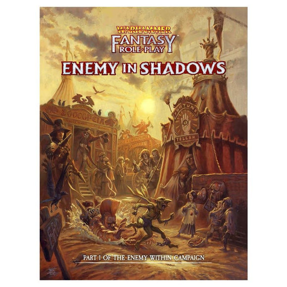 Warhammer Fantasy RPG 4th Edition: Enemy in Shadows:  Enemy Within V1