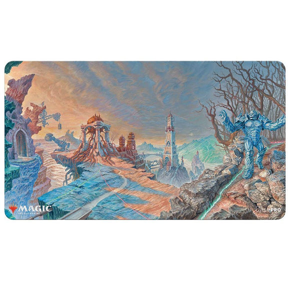 Ultra Pro Playmat Magic the Gathering Double Masters Urza Lands and Karn (18432)