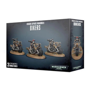 Warhammer 40,000 Chaos Space Marines Bikers
