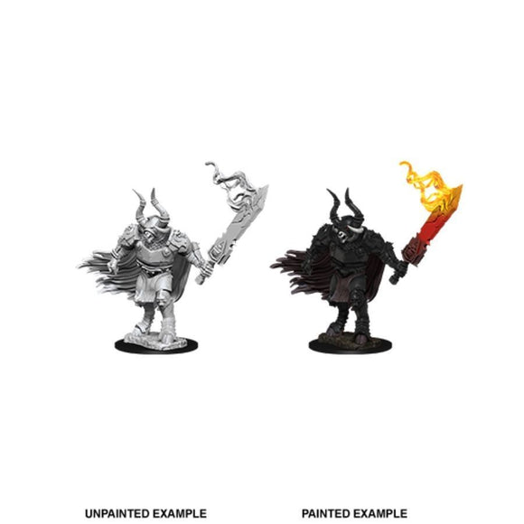 Pathfinder Deep Cuts Unpainted Miniatures: Minotaur Laybrinth Guard (90094)