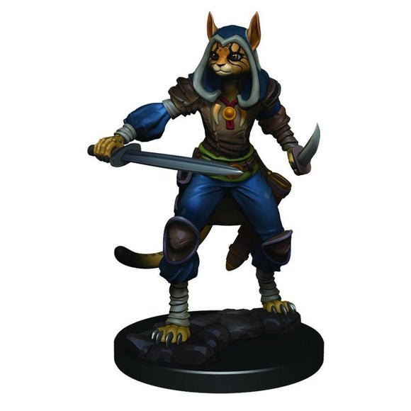 D&D Icons of the Realms Premium Figures: Female Tabaxi Rogue (93012)