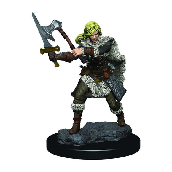 D&D Icons of the Realms Premium Figures: Female Human Fighter (93020)