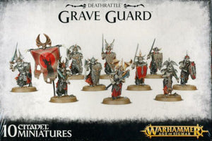 Warhammer Age of Sigmar Deathrattle Grave Guard