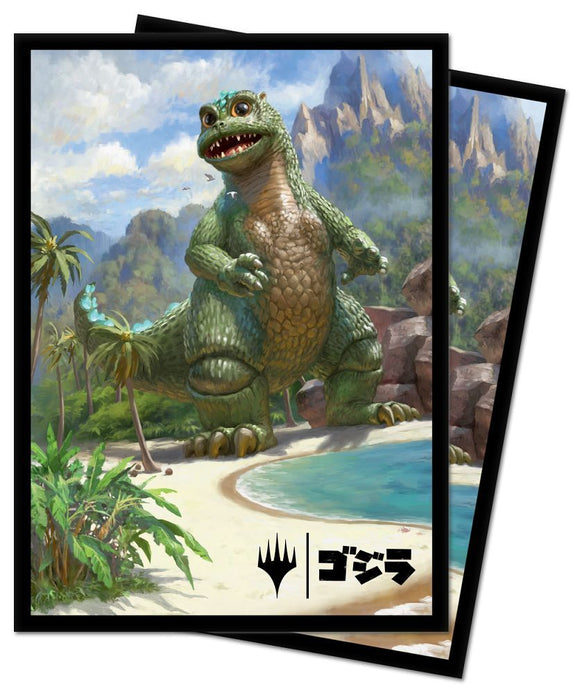 Ultra Pro Standard Card Game Sleeves 100ct Magic the Gathering Baby Godzilla (18389)