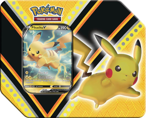 Pokemon TCG V Power Tin - Pikachu