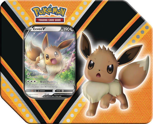 Pokemon TCG V Power Tin - Eevee