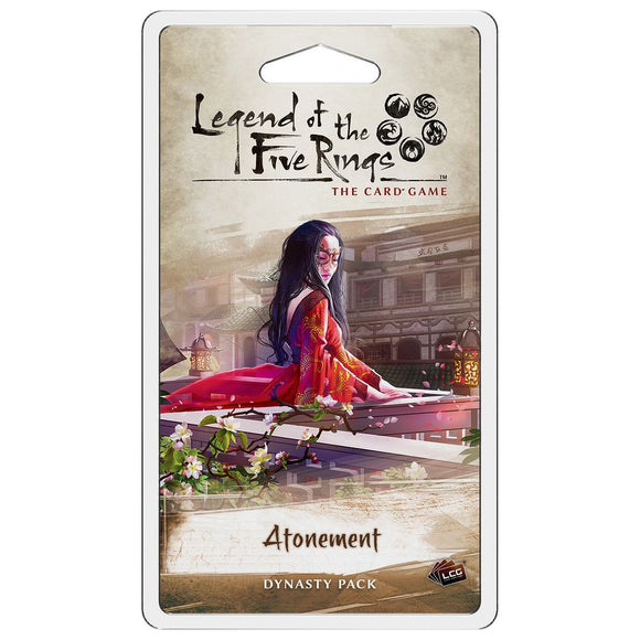 Legend of the Five Rings: The Living Card Game – Atonement Dynasty Pack