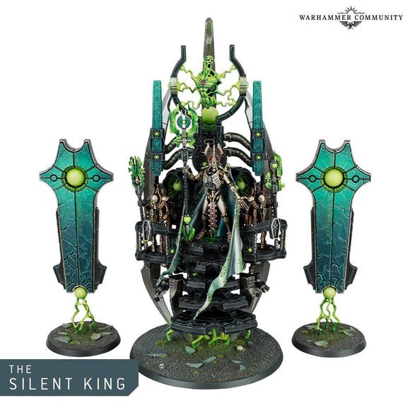 Warhammer 40,000 Necrons The Silent King