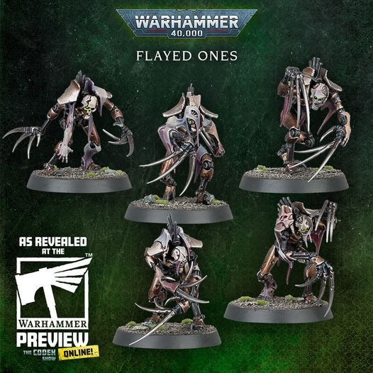 Warhammer 40,000 Necrons Flayed Ones (new)
