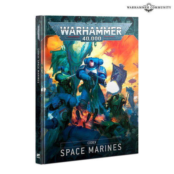 Warhammer 40,000 Codex Space Marines (9th Edition)