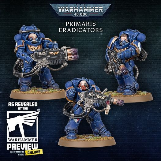 Warhammer 40,000 Space Marines Primaris Eradictors
