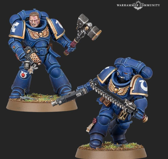 Warhammer 40,000 Space Marines Assault Intercessor Kit