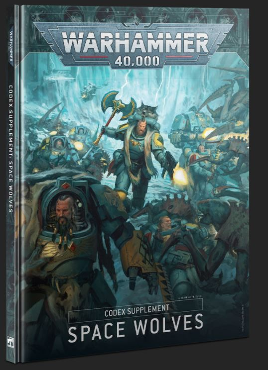 Warhammer 40,000 Codex Supplement Space Wolves (9th Edition)