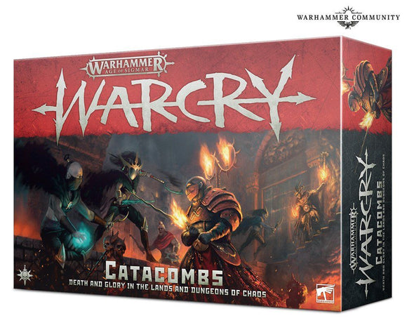 Warhammer Age of Sigmar Warcry Catacombs