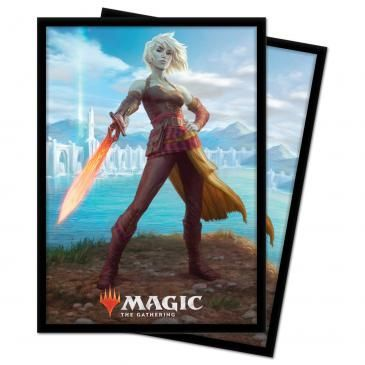 Ultra Pro Standard Size Sleeves 100ct Magic the Gathering Zendikar Rising Nahiri, Heir of the Ancients (18441)