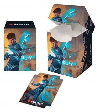 Ultra Pro 100+ Deck Box Magic the Gathering Zendikar Rising  Jace, Mirror Mage (18443)