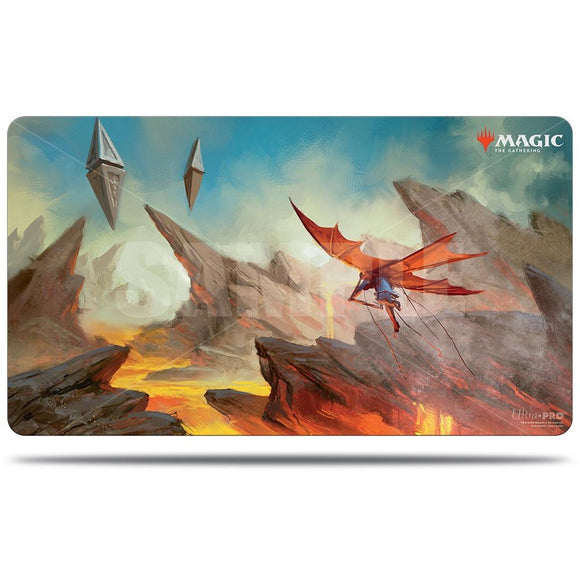 Ultra Pro Playmat Magic the Gathering Zendikar Rising Lavaglide Pathway (18448)