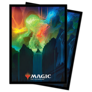 Ultra Pro Standard Size Sleeves 100ct Magic the Gathering Zendikar Rising Omnath, Locus of Creation (18461)