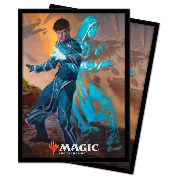 Ultra Pro Standard Size Sleeves 100ct Magic the Gathering Zendikar Rising Jace, Mirror Mage (18493)
