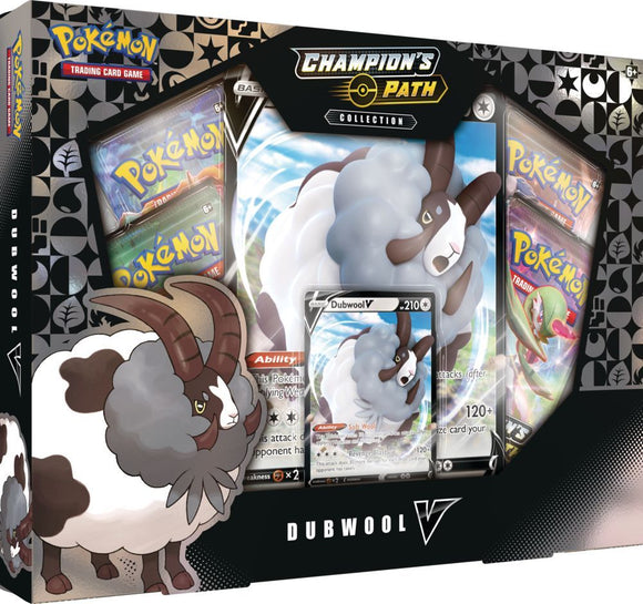 Pokemon TCG Champion's Path Collection Dubwool V