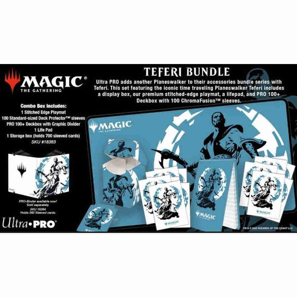 Ultra Pro Magic the Gathering Teferi Supply Bundle (18383)