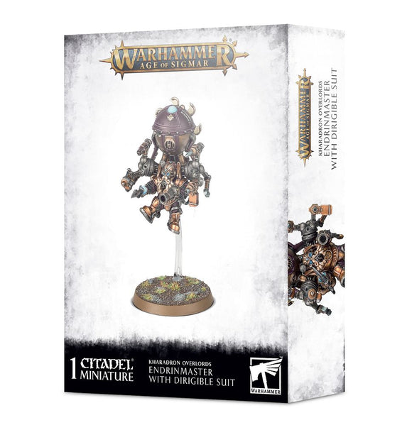 Warhammer Age of Sigmar Kharadron Overlords Kharadron Endrinmaster with Dirigible Suit