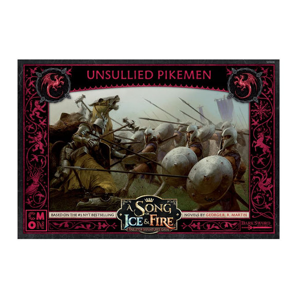 A Song of Ice and Fire Miniatures Game: Unsullied Pikemen