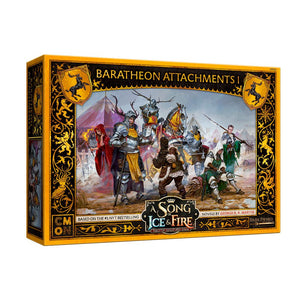 A Song of Ice and Fire Miniatures Game: Baratheon Attachments #1