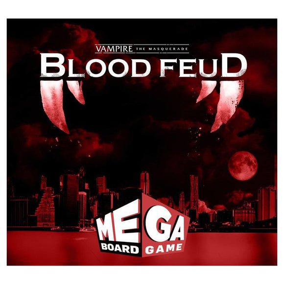 Vampire The Masquerade: Blood Feud - Mega Board Game