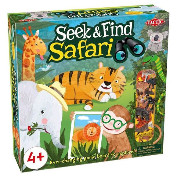 Seek & Find Safari
