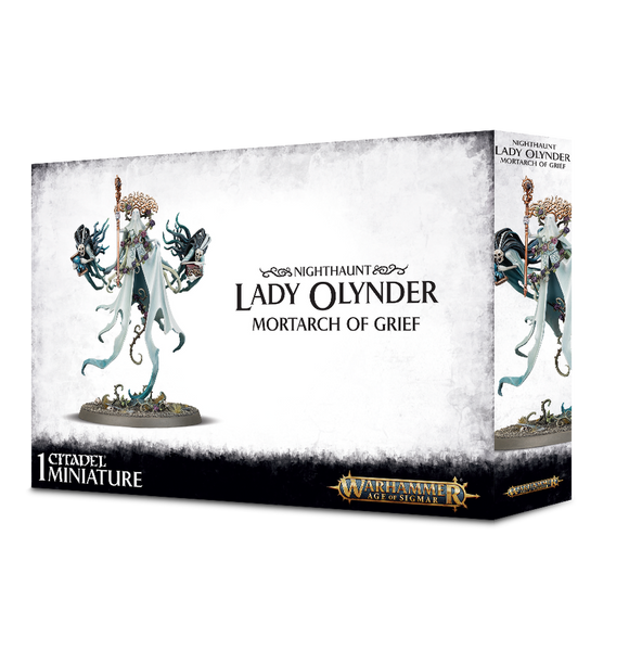 Warhammer Age of Sigmar Nighthaunt Lady Olynder, Mortarch of Grief