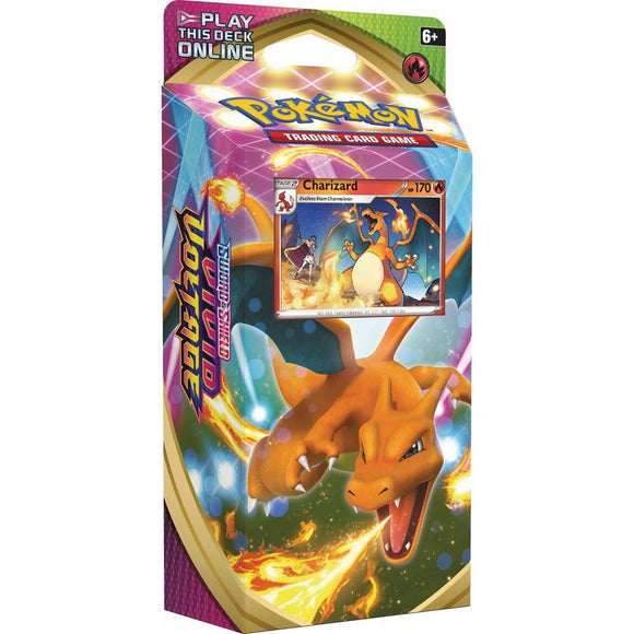 Pokemon TCG Sword & Shield Vivid Voltage Theme Deck - Charizard