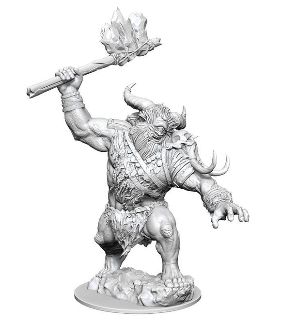 Magic the Gathering Unpainted Miniatures: Boborygmos (Cyclops) (90185)