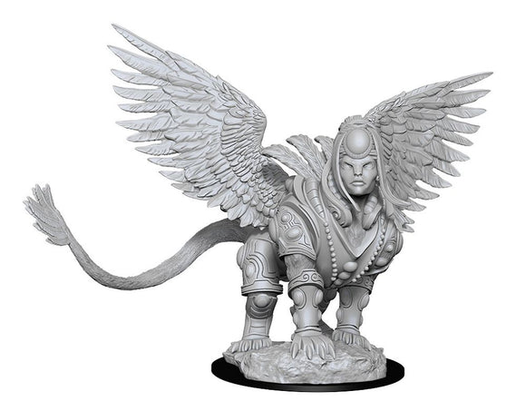 Magic the Gathering Unpainted Miniatures: Isperia, Law Incarnate (Sphinx) (90186)