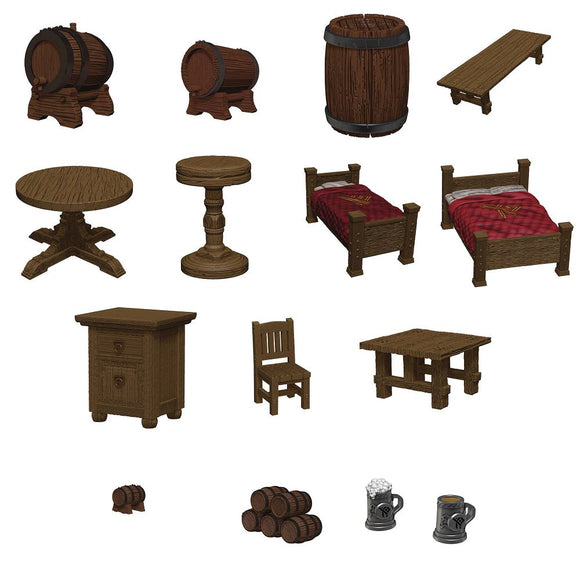 D&D Icons Yawning Portal Inn Beds & Bottles