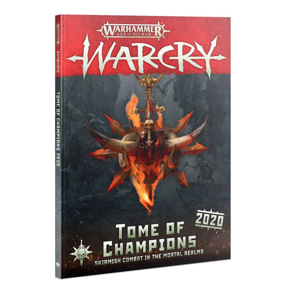 Warhammer Age of Sigmar Warcry Tome of Champions 2020