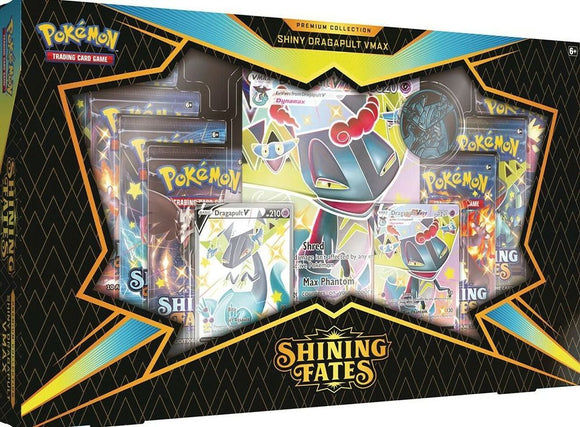 Pokemon TCG Shining Fates Premium Collection - Shiny Dragapult VMAX