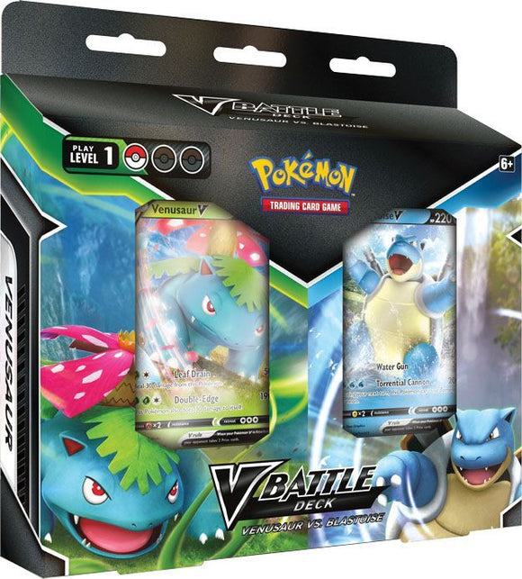 Pokemon TCG V Battle Deck Venusaur V vs. Blastoise V