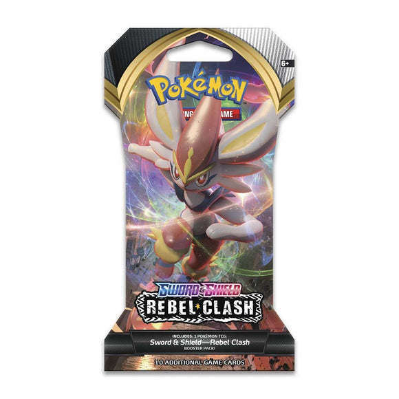 Pokemon TCG Rebel Clash Sleeved Booster