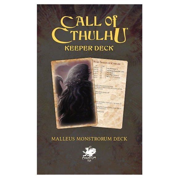 Call of Cthulhu Keeper Deck: Malleus Monstrorum Deck